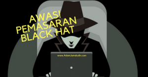 pemasaran black hat