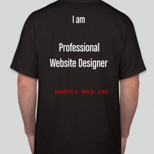 Pre Order Tshirt Website Designer