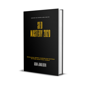 Ebook SEO Mastery 2020 ( Harga Early Bird )
